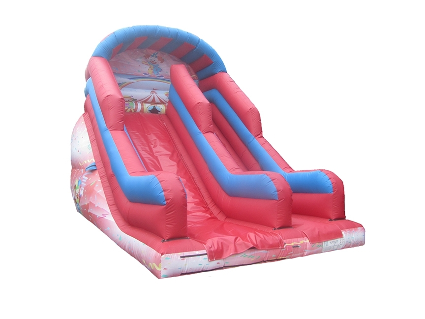 10ft-platform-clown-printed-inflatable-mega-slide-compressor