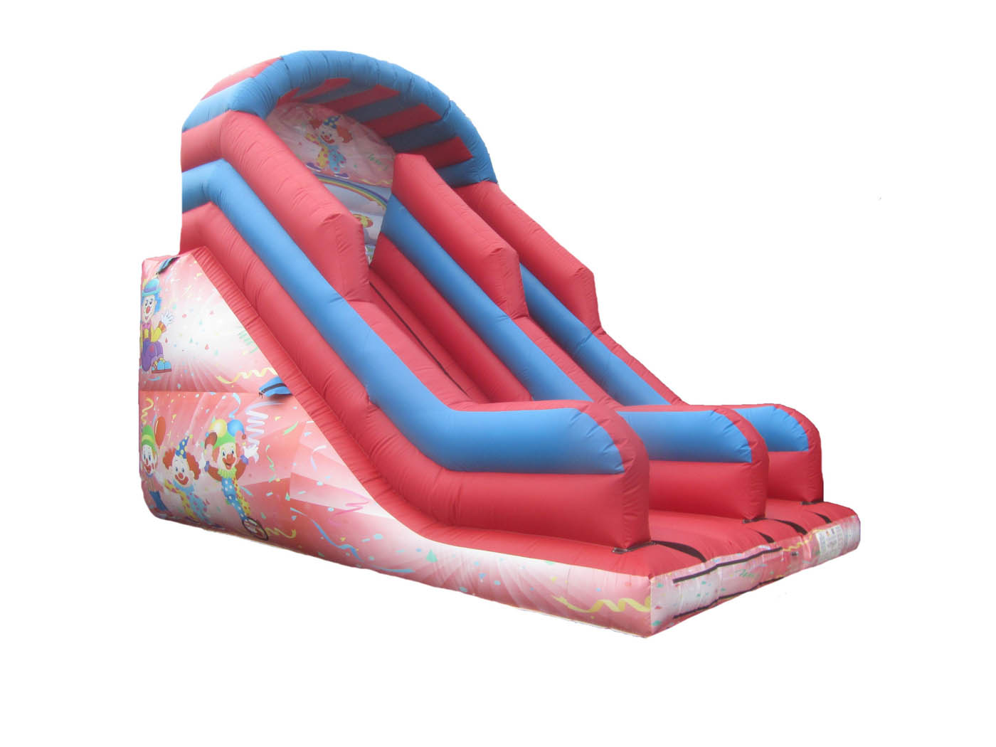 Circus themed inflatable mega slide for sale