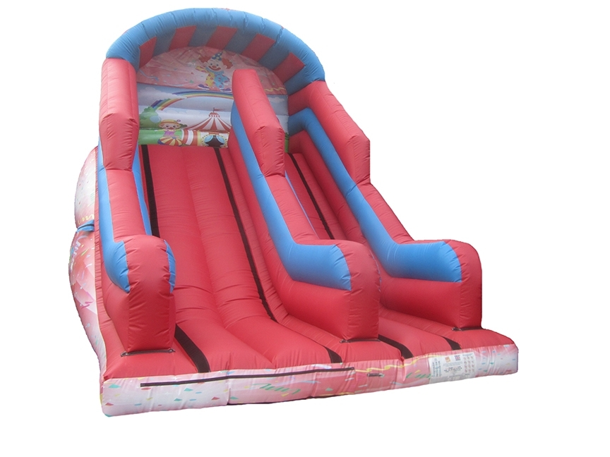 10ft-platform-clowns-inflatable-mega-slide-compressor
