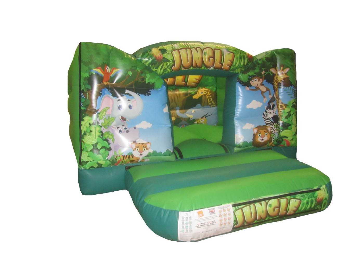 Jungle Themed Toddler Bouncy Castle for Sale