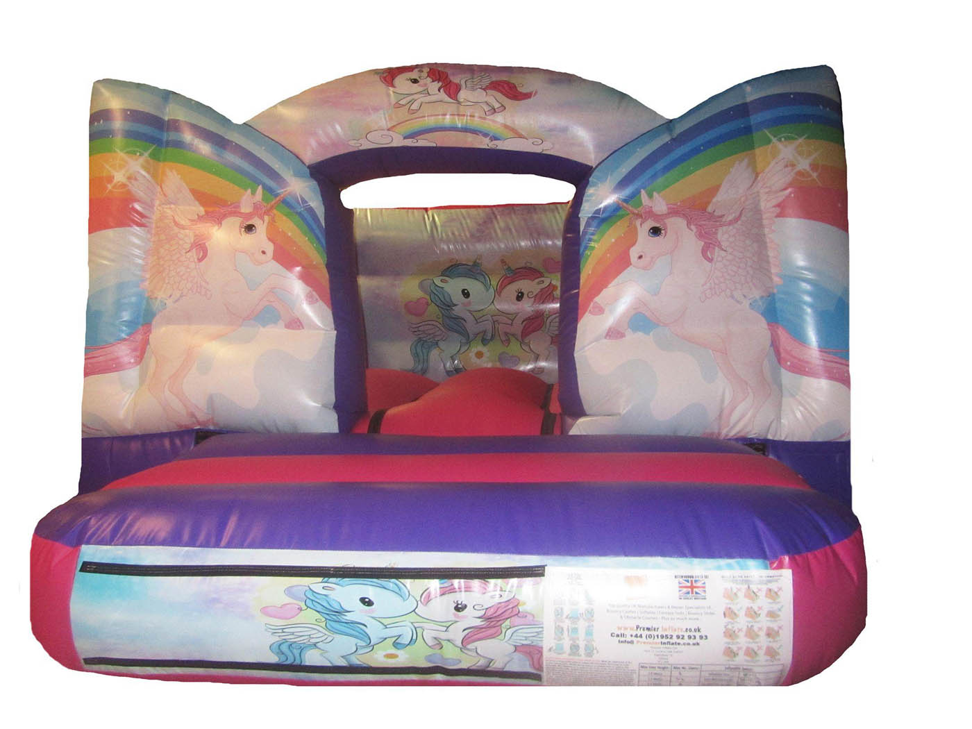 Toddler Bouncer with Unicorn themed Artwork