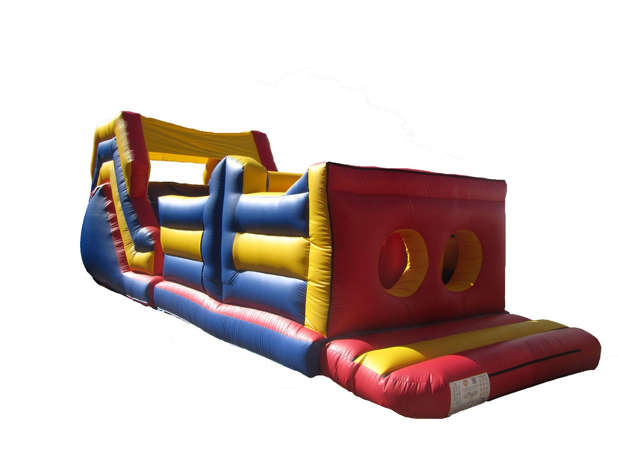 Commercial 2 Part Bouncy Obstacle Course