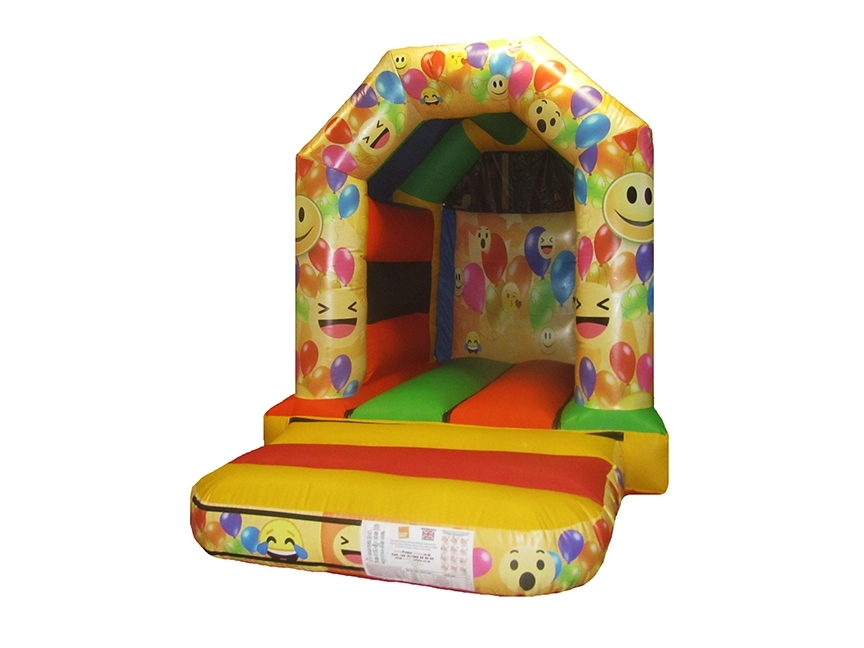 Emoji Themed Toddler Bouncy Castle