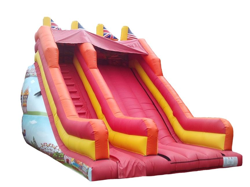 Fairground Themed Mega Bouncy Slide