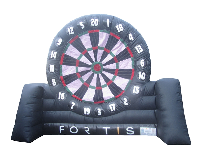 Commercial Inflatable Football Dartboard with Logo