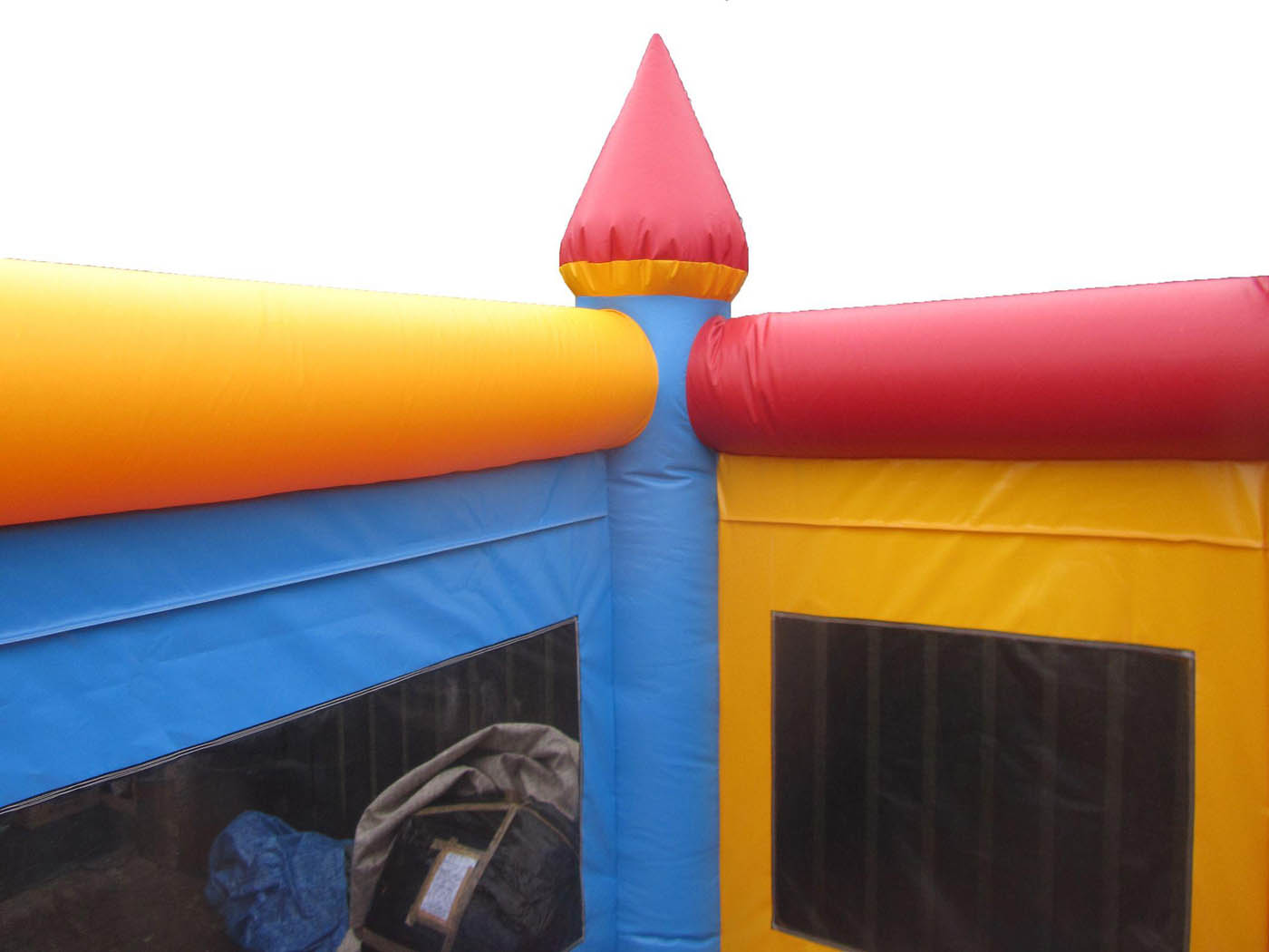 Commercial Bouncy Castle with Netted Sides