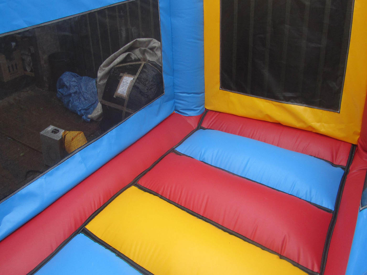 Commercial Netted Bouncy Castle