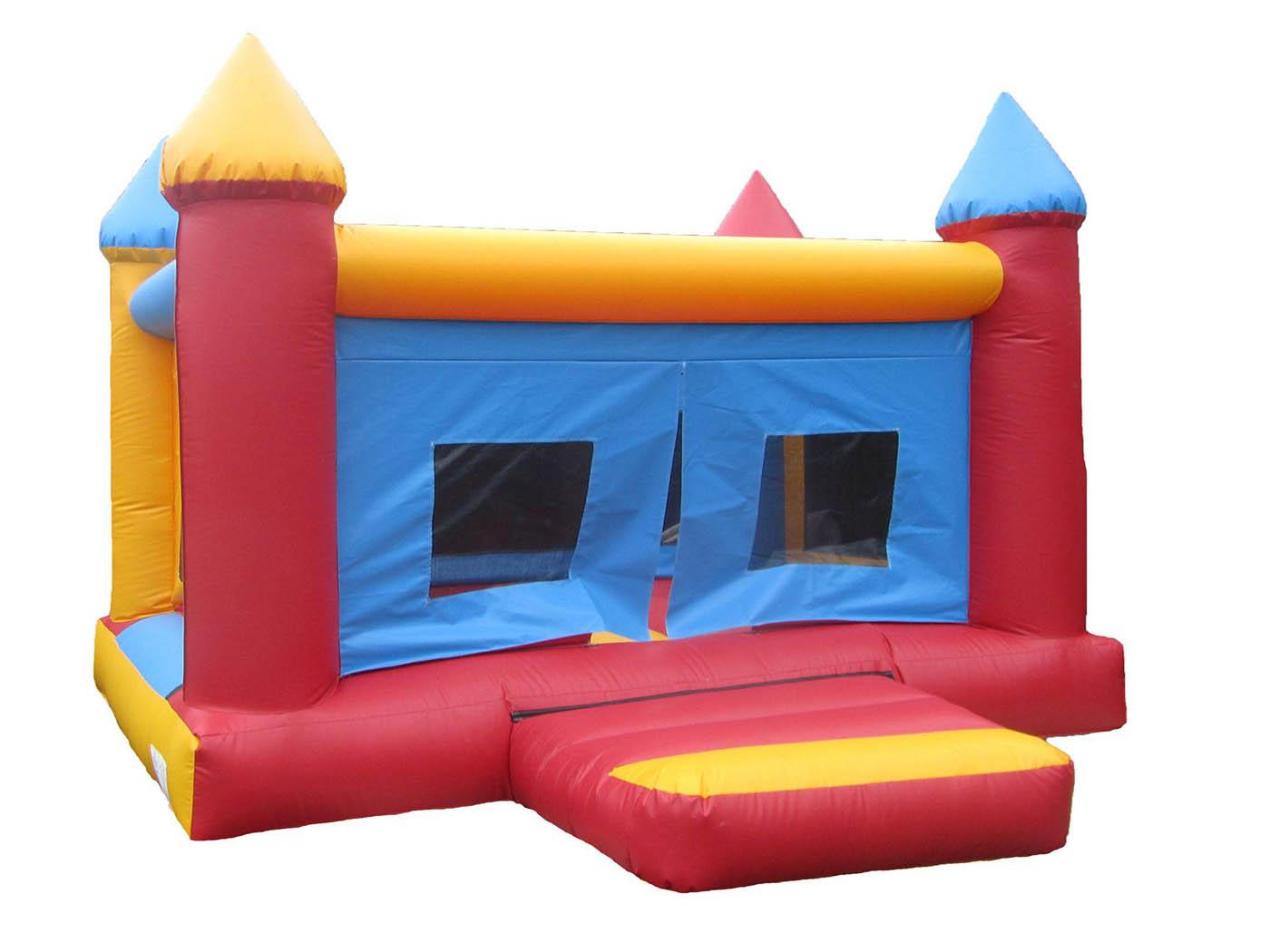 Netted 4 Post Bouncy Castle