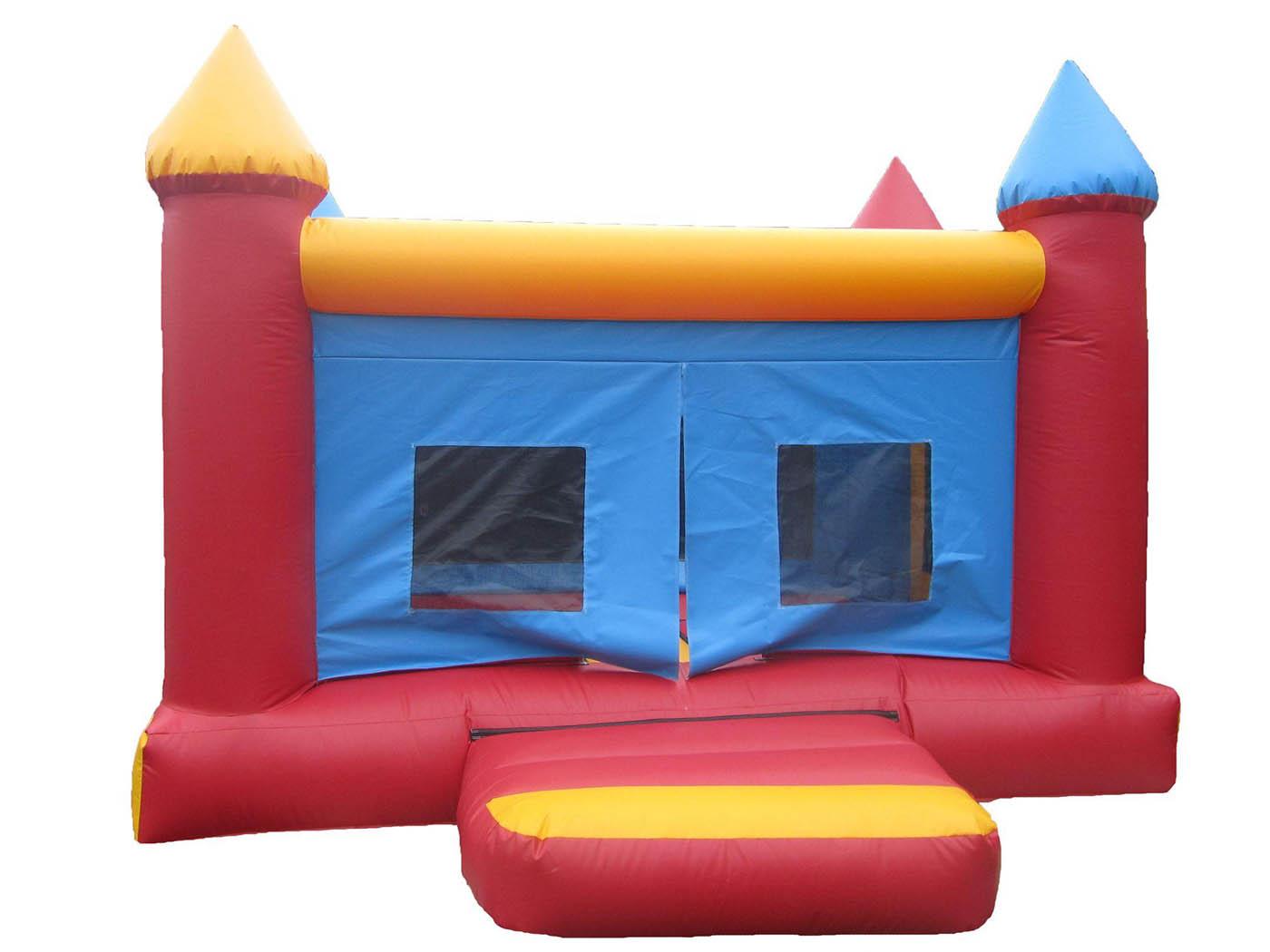 Netted 4 Post Children's Bouncy Castle