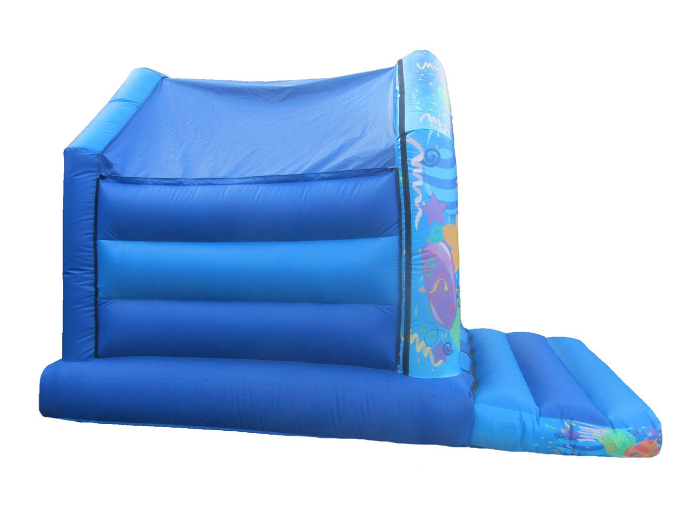 Blue Party Commercial Bouncy Castle