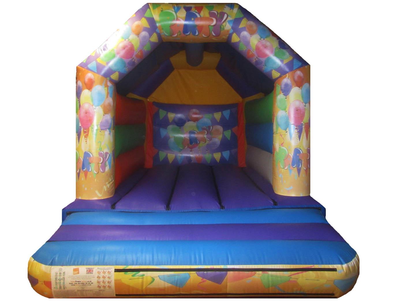 15x11-orange-purple-printed-party-bouncy-castle-compressor