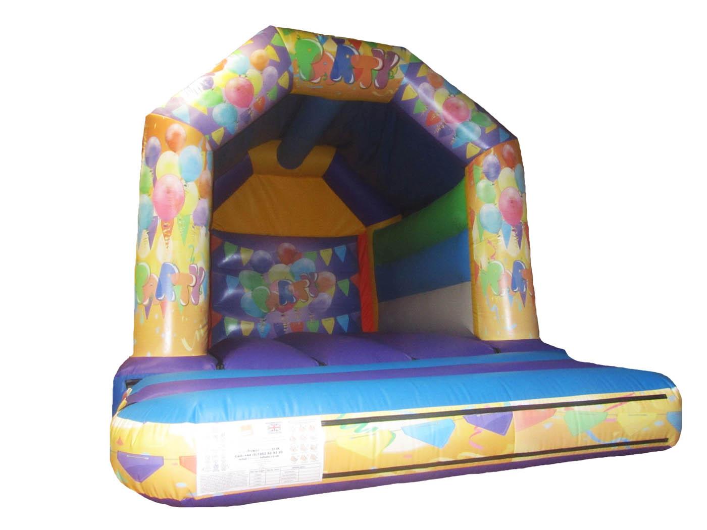 15x11-orange-purple-printed-party-inflatable-bouncy-castle-compressor
