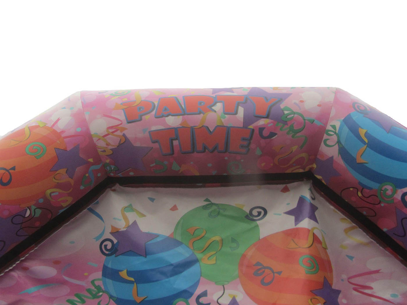 Pink Party Time Bouncy Castle Artwork