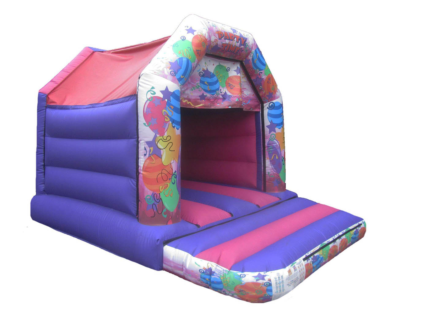 Pink Party Velcro Bouncy Castle for Sale