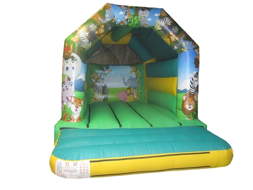 Commercial Jungle Bouncy Castle