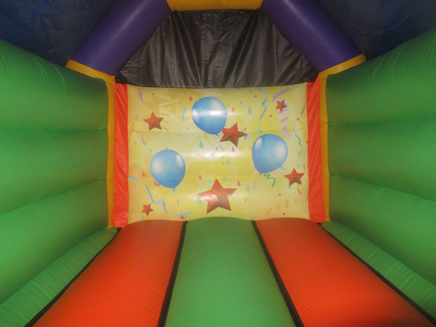 Party Themed Bouncy Castle Artwork