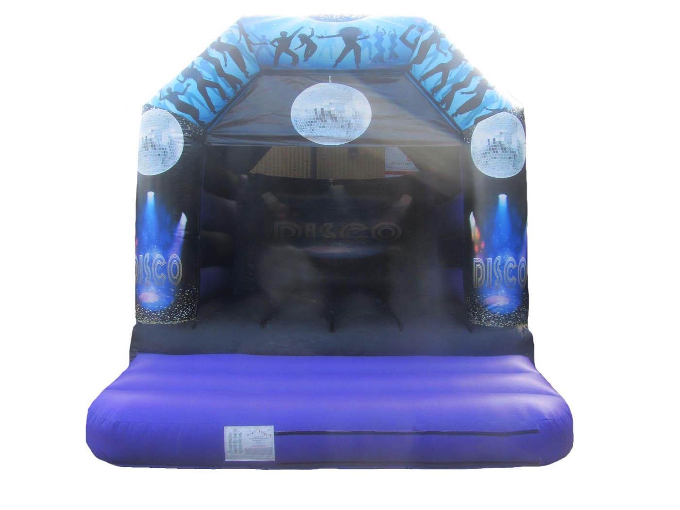 Heavy Dutt Adults Disco Themed Bouncy Castle