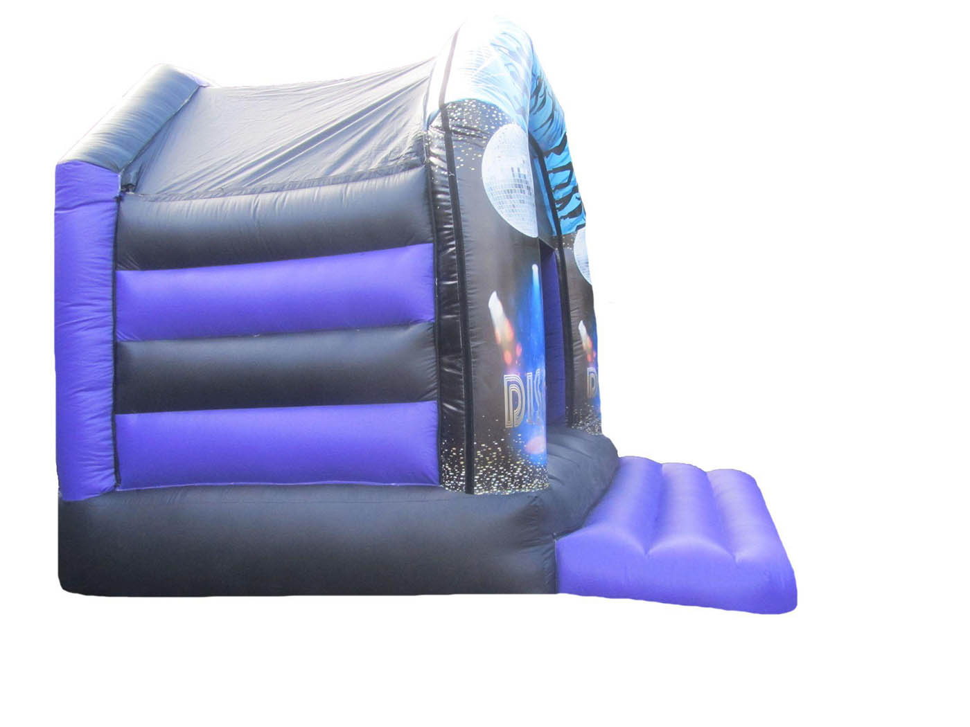 Side View of Commercial Bouncy Castle