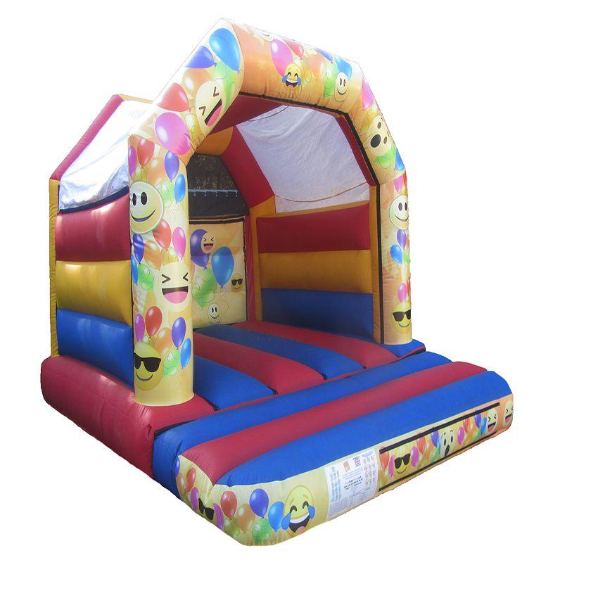 Childrens Commercial Bouncy Castle with Unisex Artwork