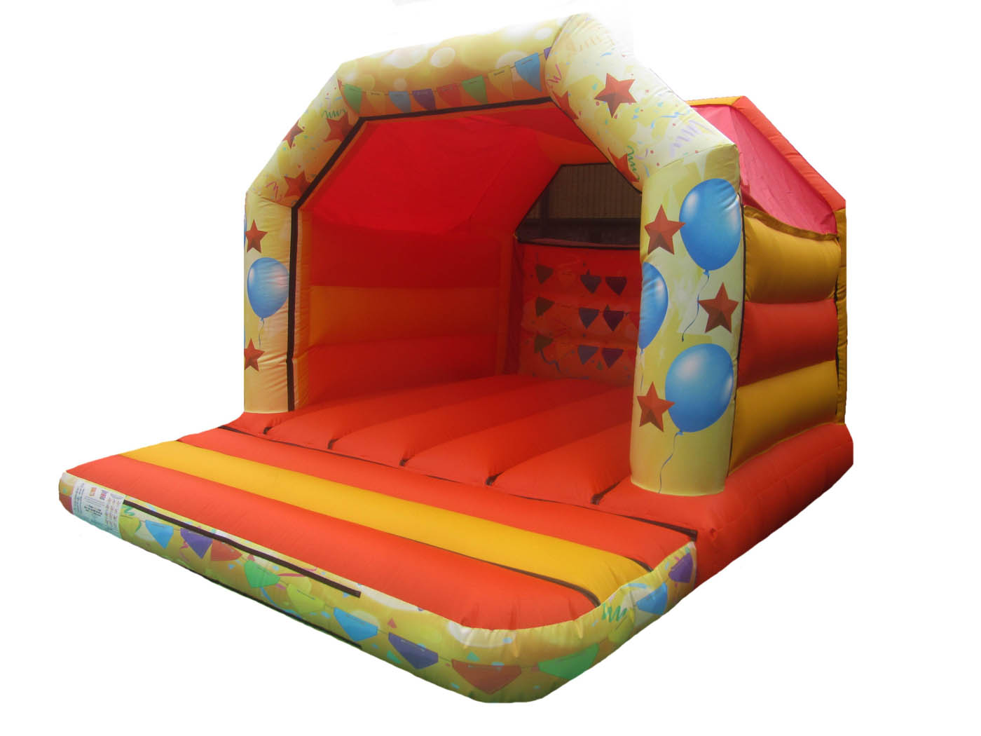 Kids Commercial Bouncer with Party Artwork