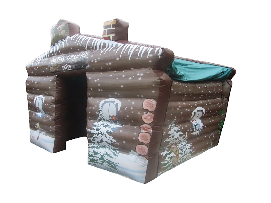 Inflatable Santas Grotto Christmas Inflatable