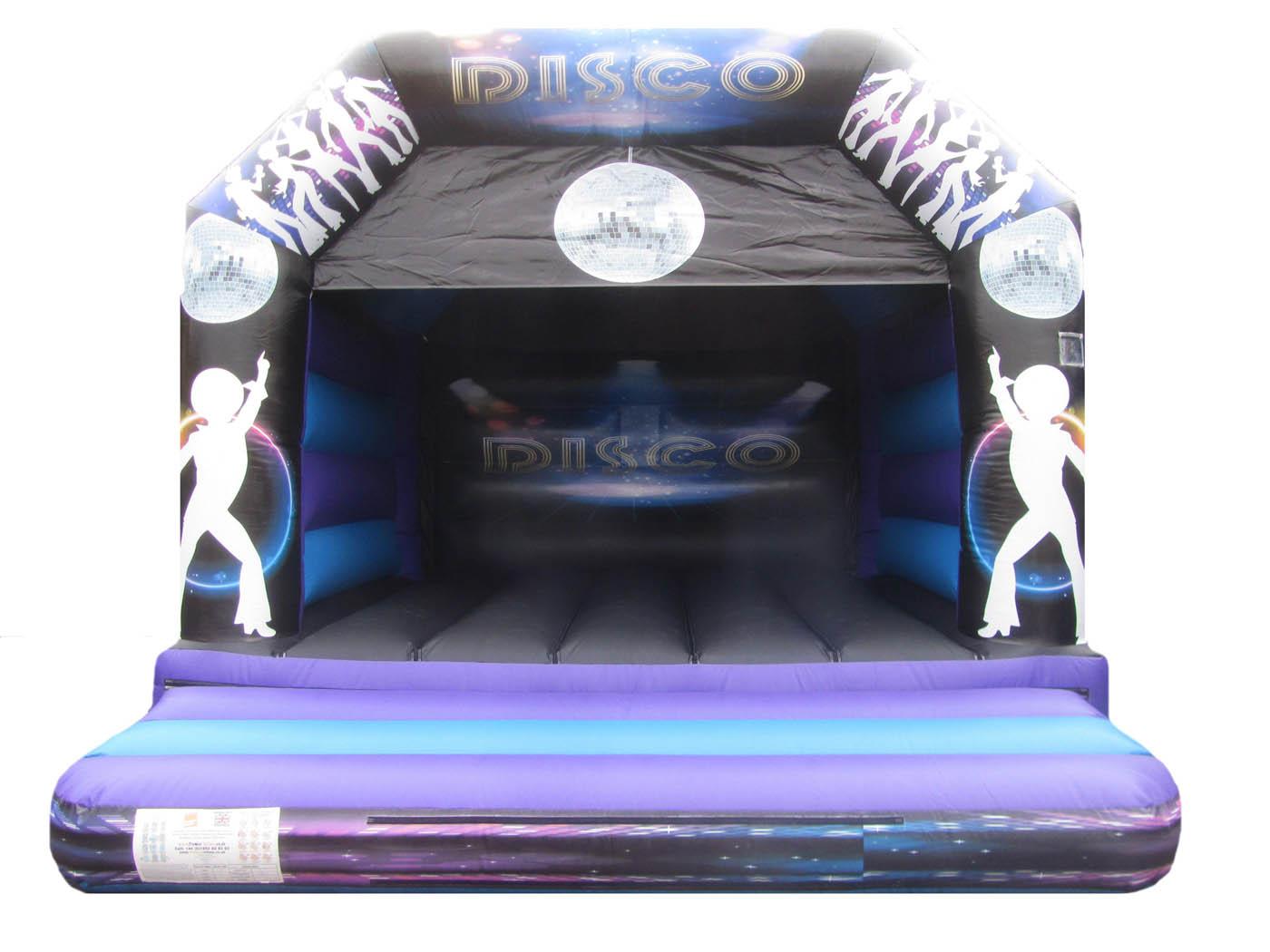 Adults Disco Bouncy Castle