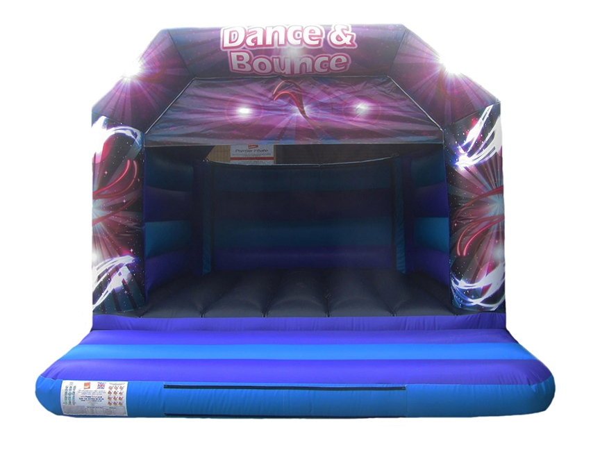 Adults Disco Bouncy Castle