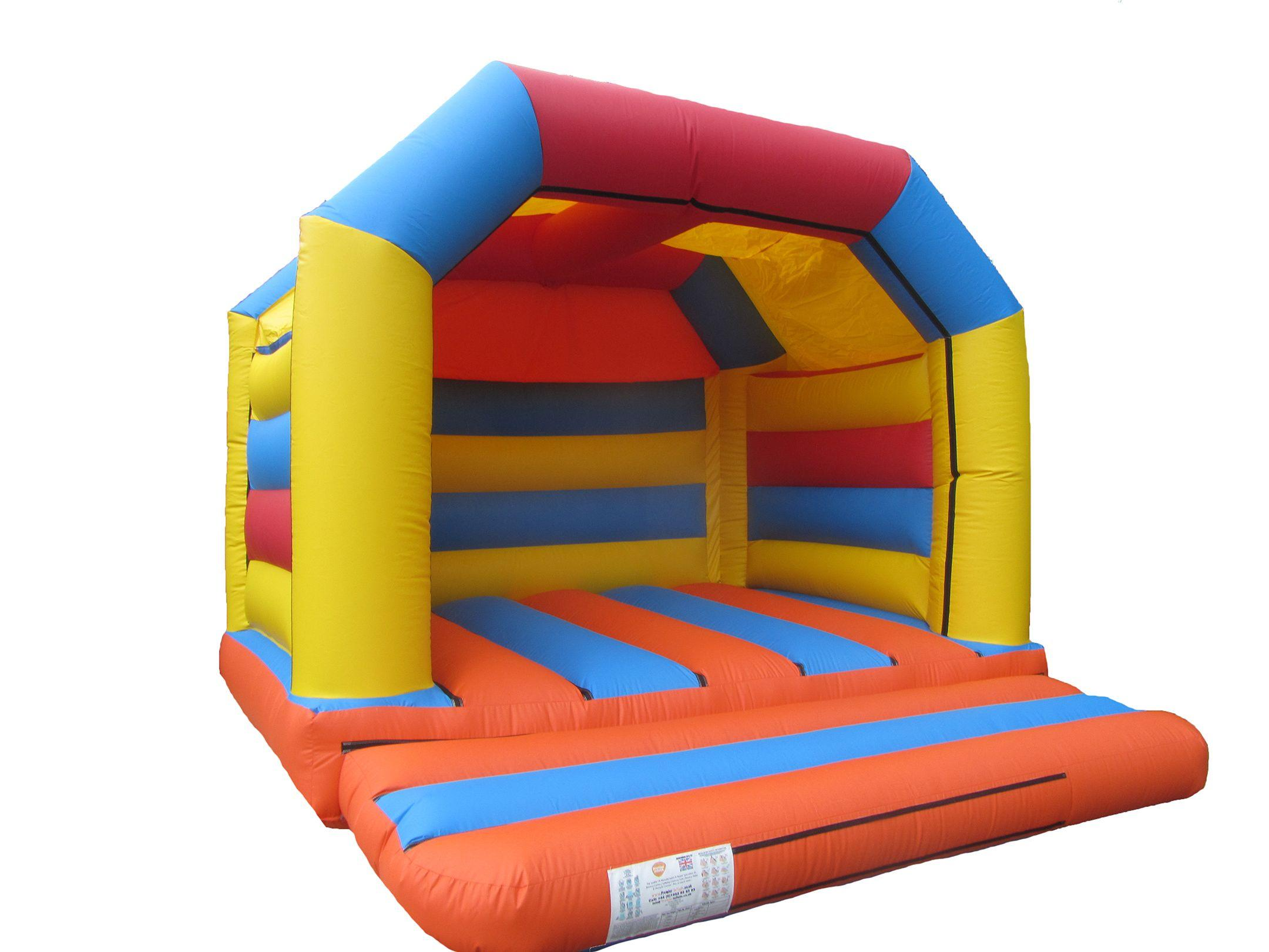 Plain Velcro Adults Bouncy Castle