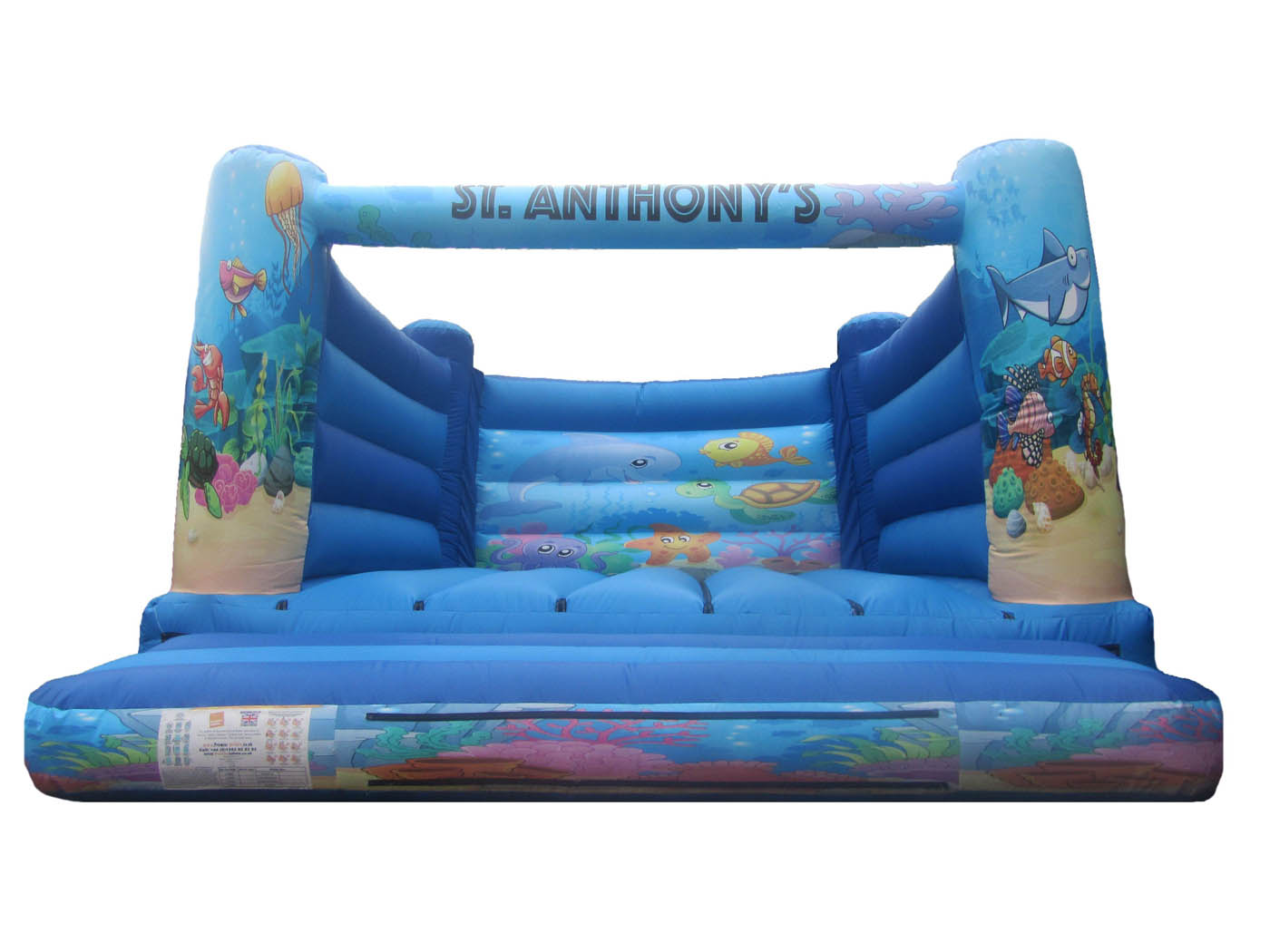 Adults Under the Sea Bouncy Castle