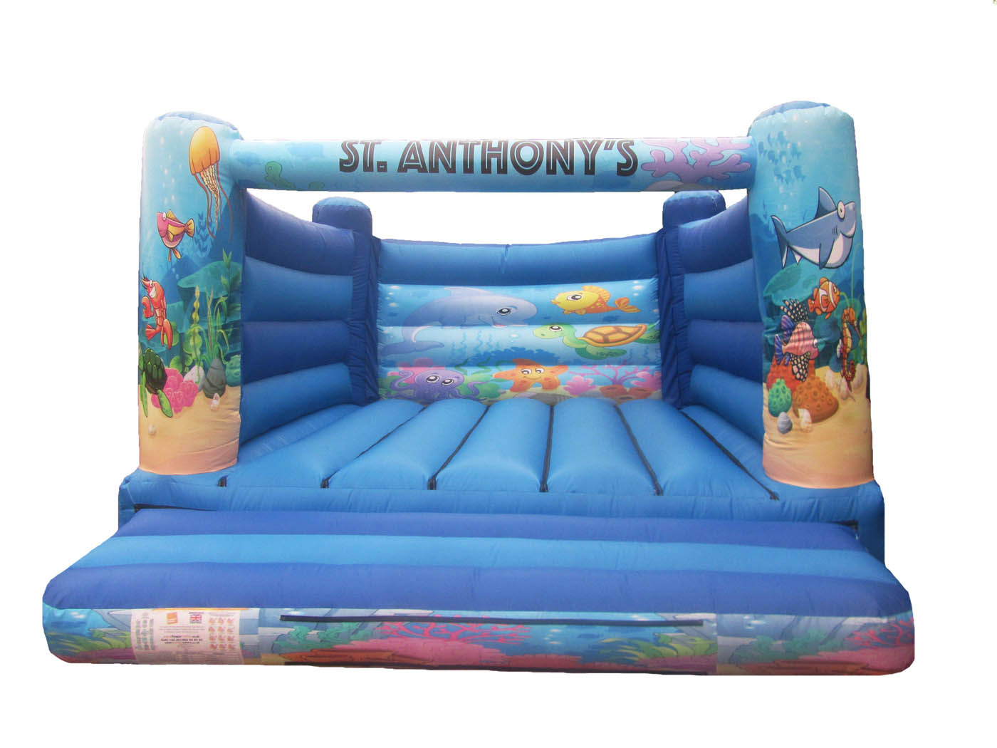 Adults Under The Sea Bouncy Castle for Sale
