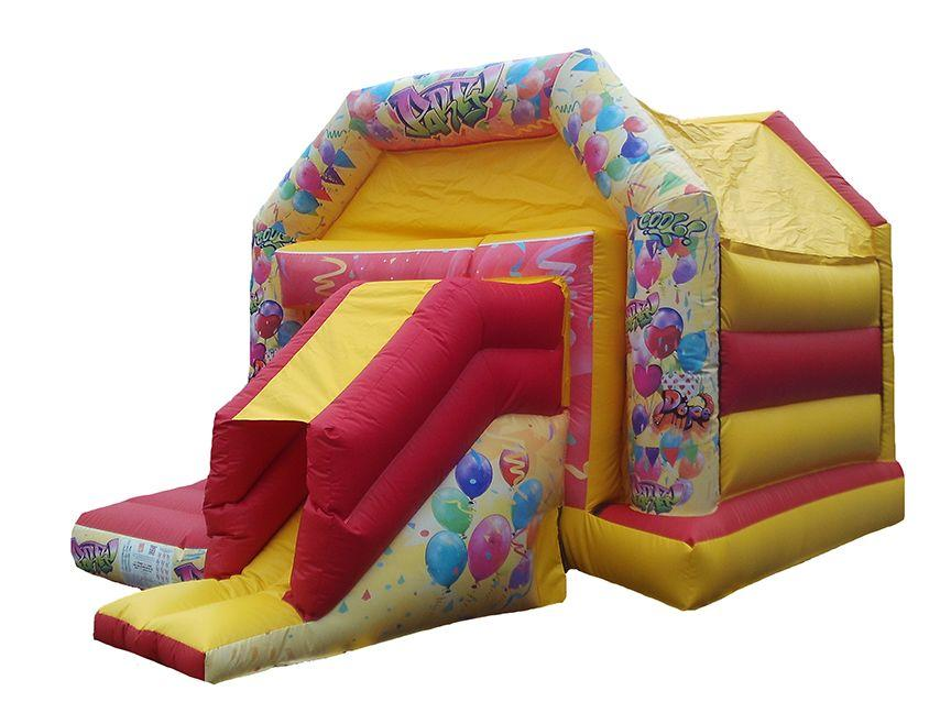 Unisex Party Front Slide Combo Bouncer for Sale