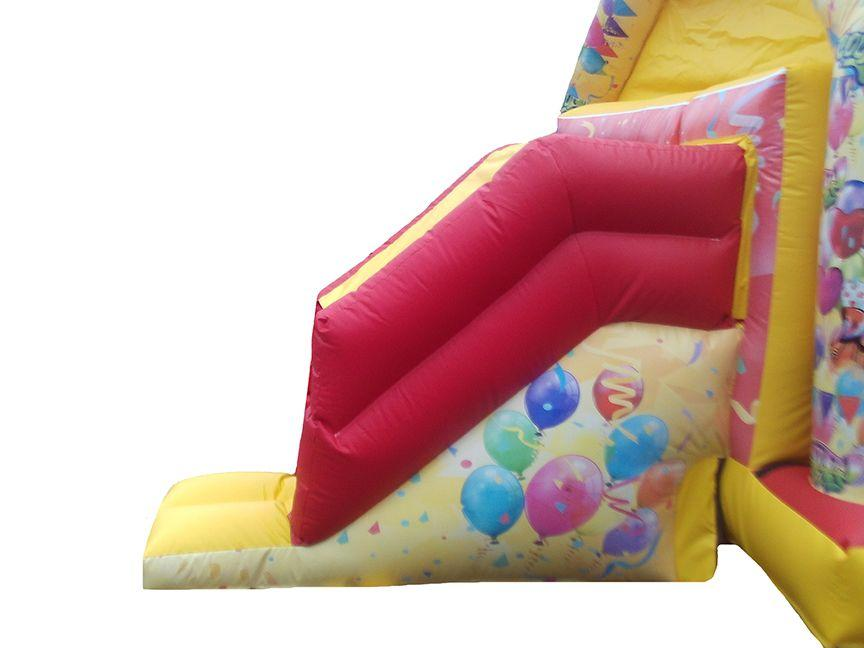 16x12 front facing combi cool party bouncy castle slide compressor Copy