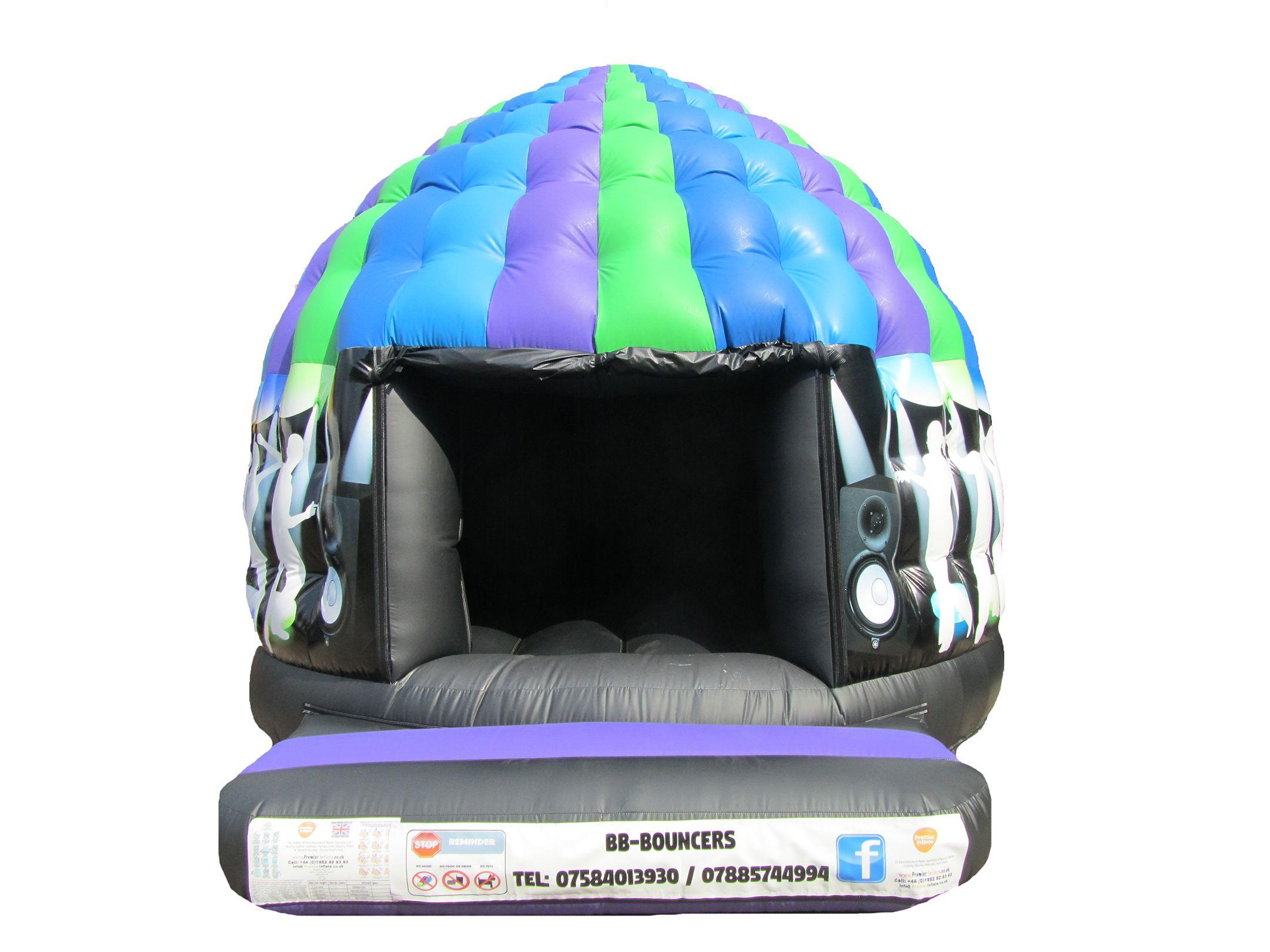 17x12 circular disco dome inflatable compressor
