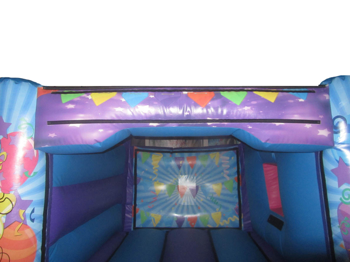 17x15-4post-combi-childrens-bouncy-castle-crossbar-compressor