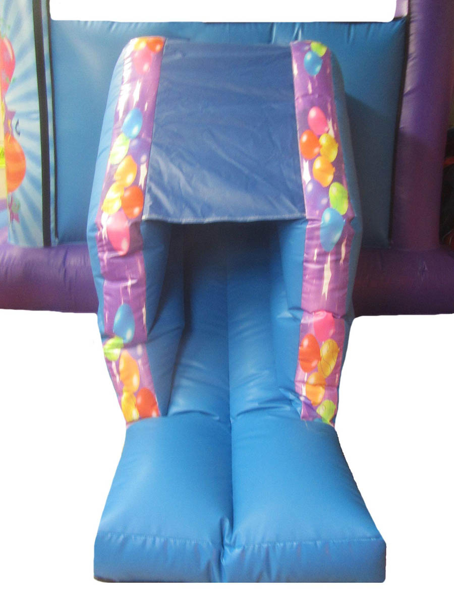 17x15-4post-combi-childrens-bouncy-castle-slide-compressor