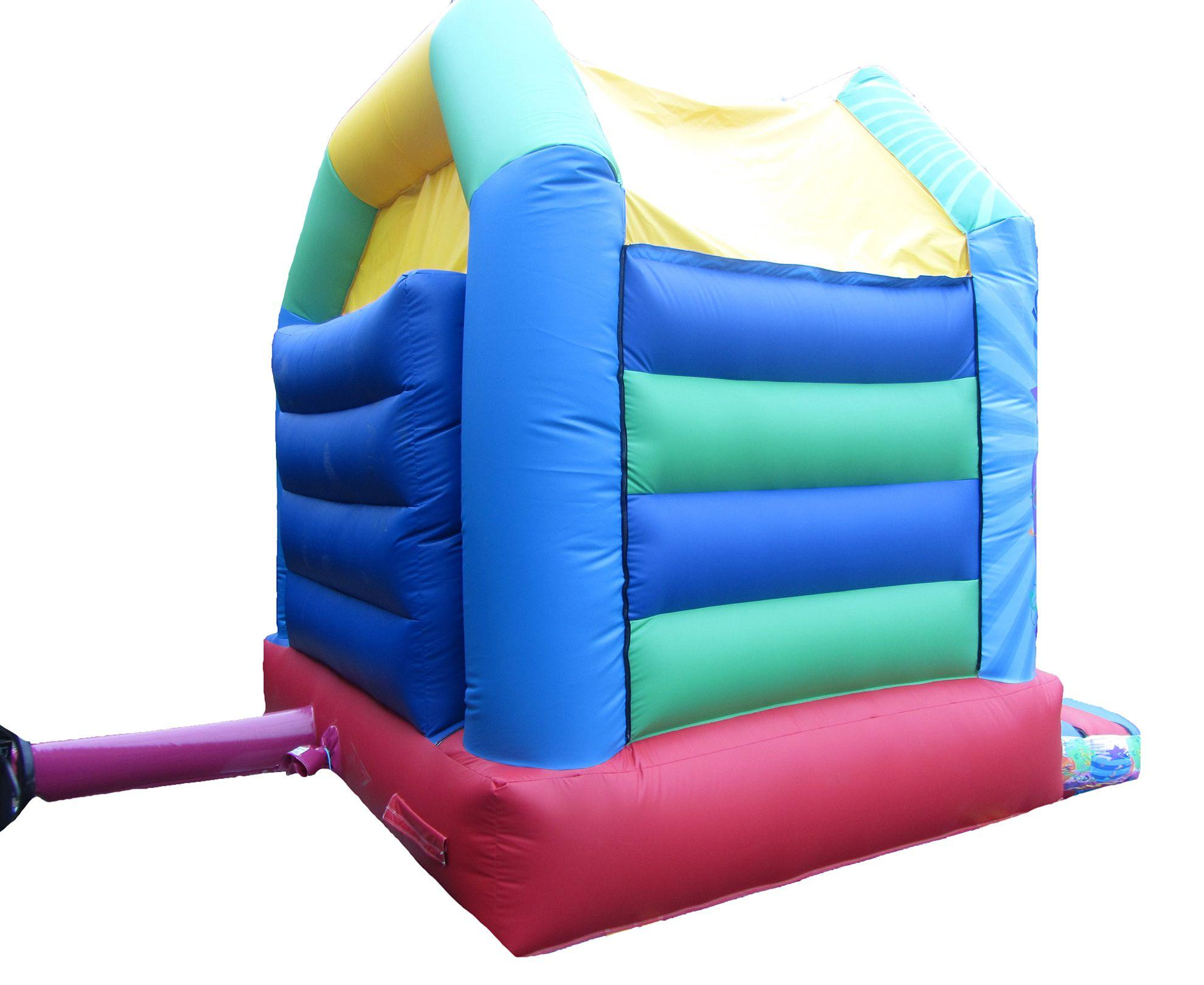 17x15 unisex printed party combi bouncy castle back compressor Copy