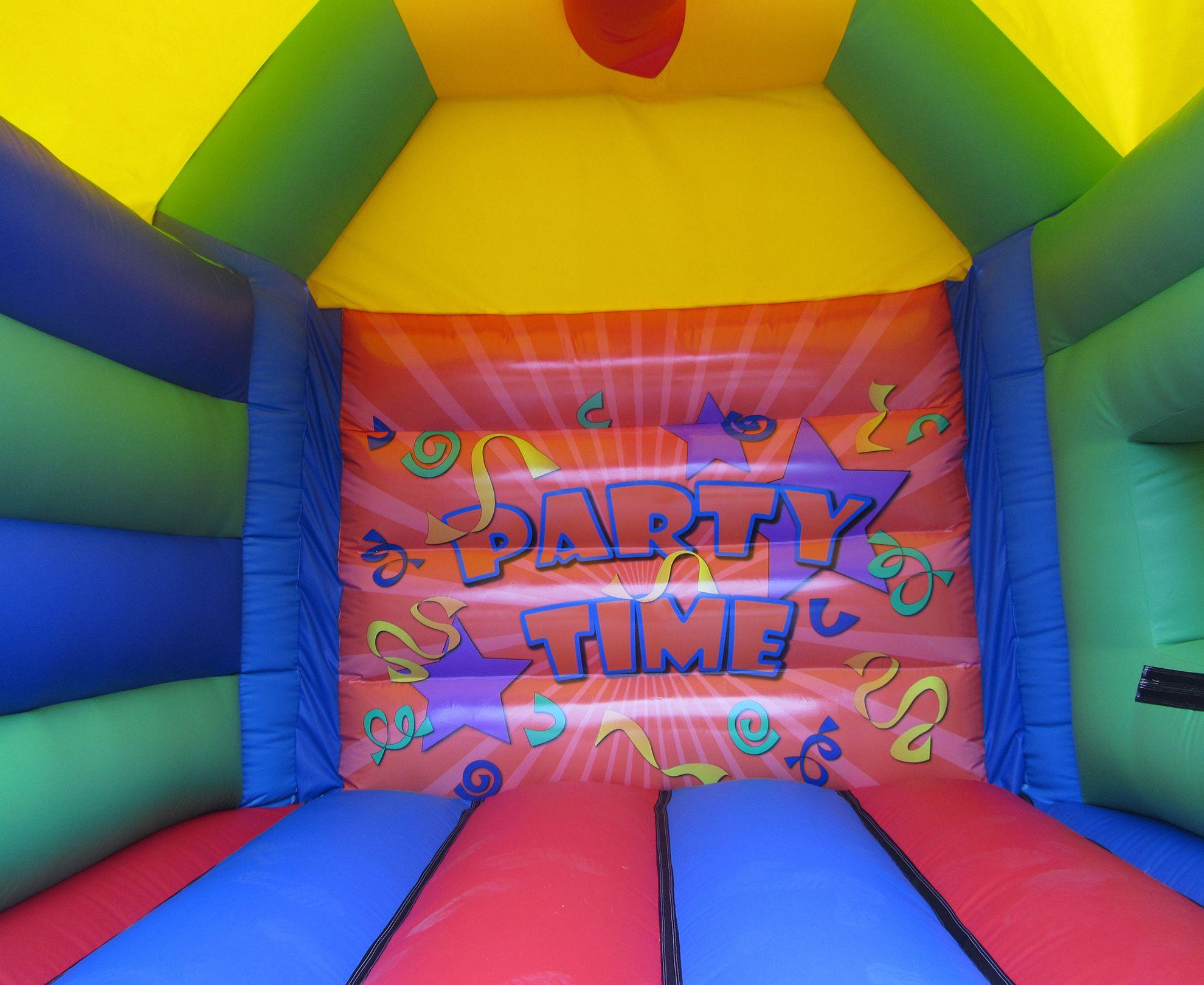 17x15 unisex printed party combi bouncy castle bw compressor Copy