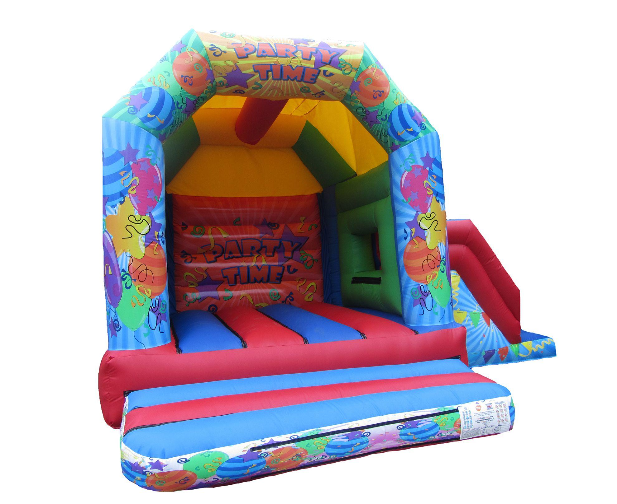 17x15 unisex printed party combi bouncy castle compressor Copy