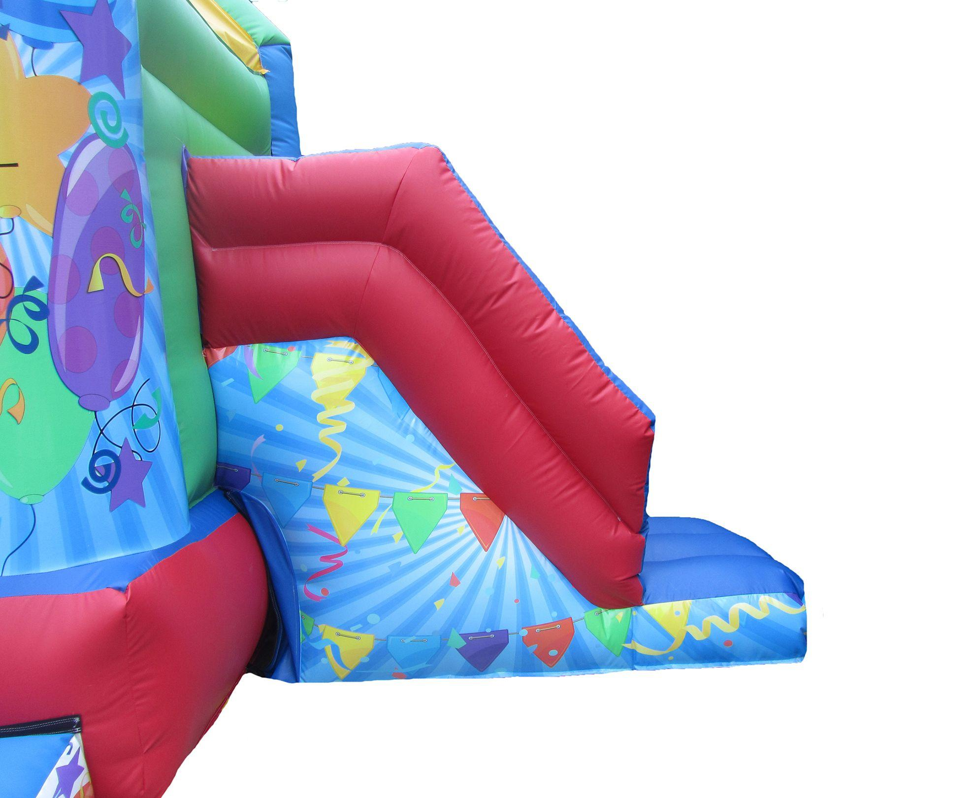 17x15 unisex printed party combi bouncy castle slide compressor Copy