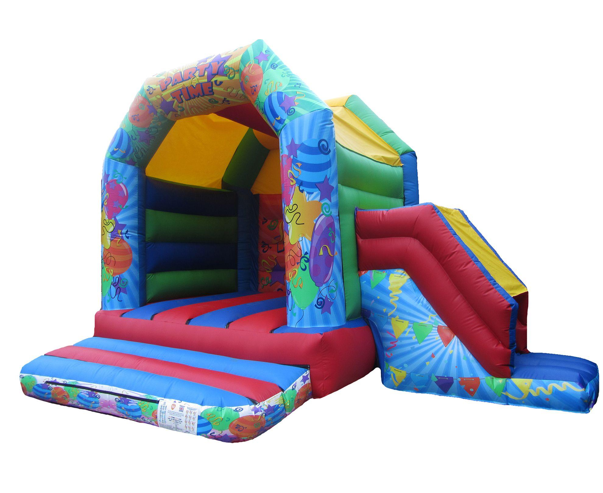 17x15 unisex printed party combi childrens bouncy castle compressor Copy