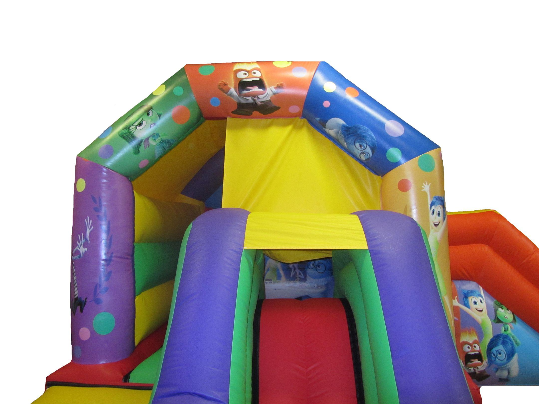 Double Combo Themed Commercial Bouncy Castle