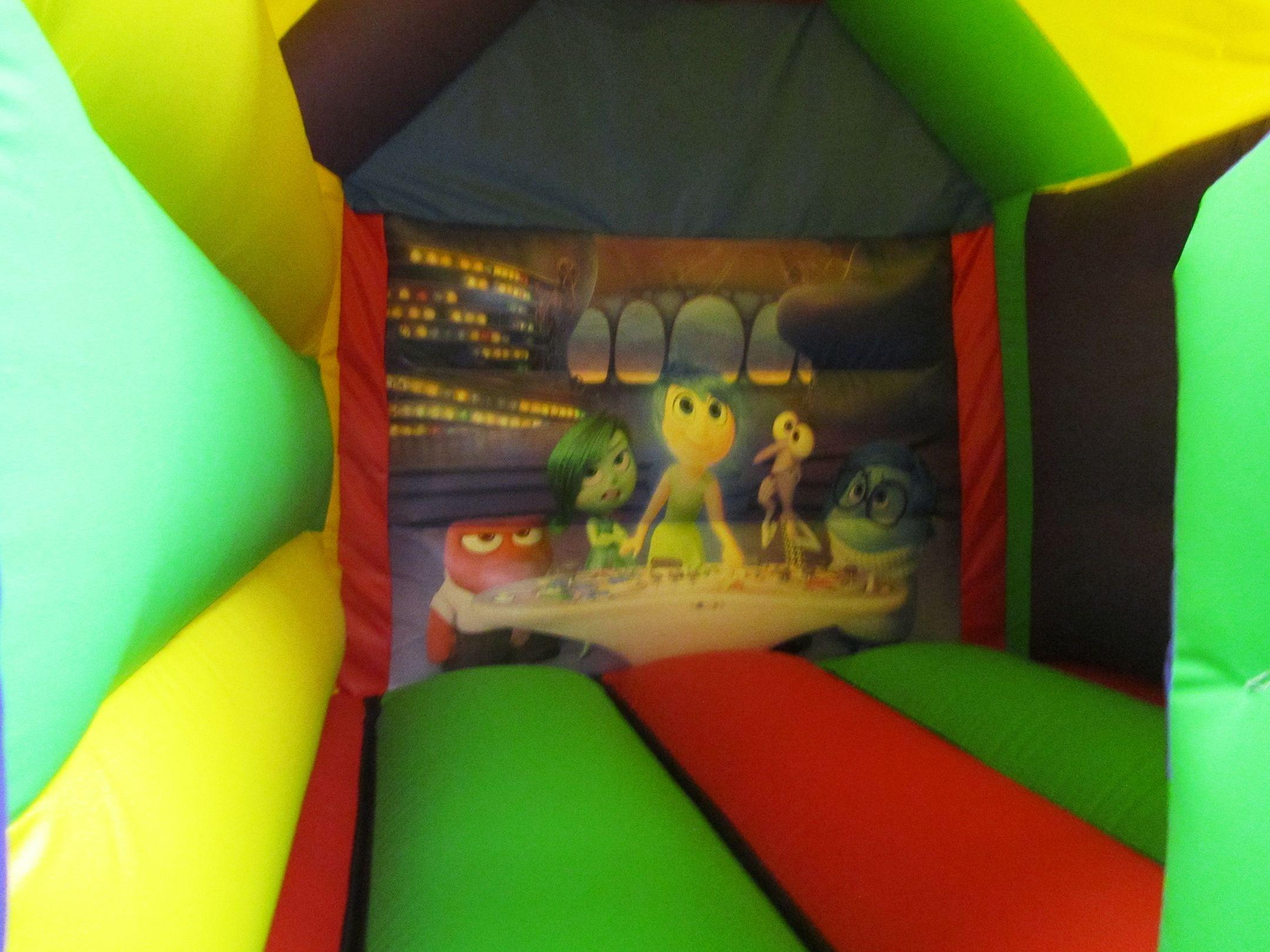 Themed Artwork on Bouncy Castle