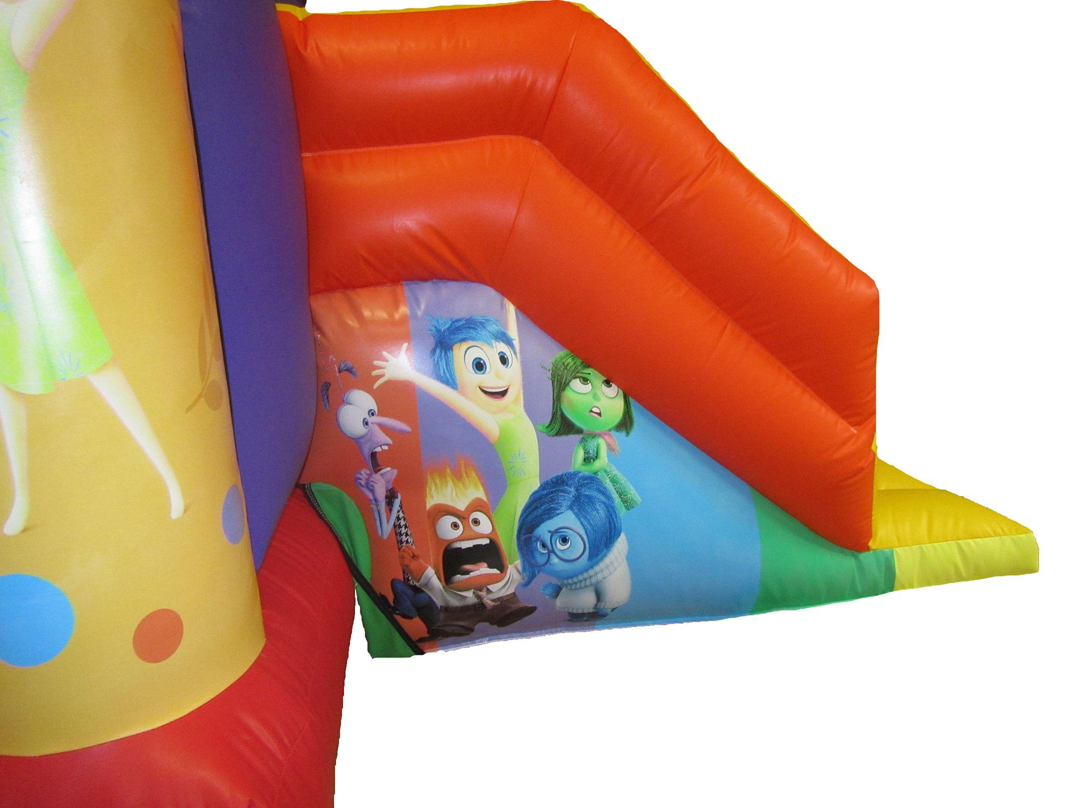 Themed Artwork On combo Bouncy Castle