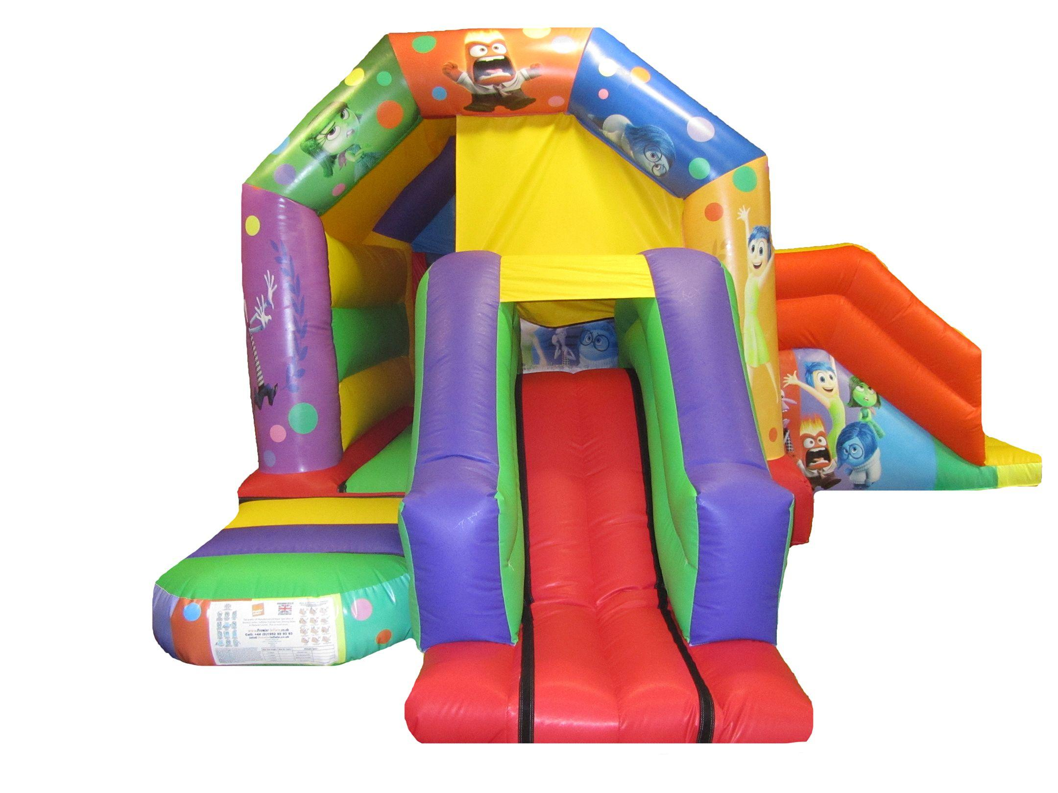 Commercial Double Combo Bouncy Castle
