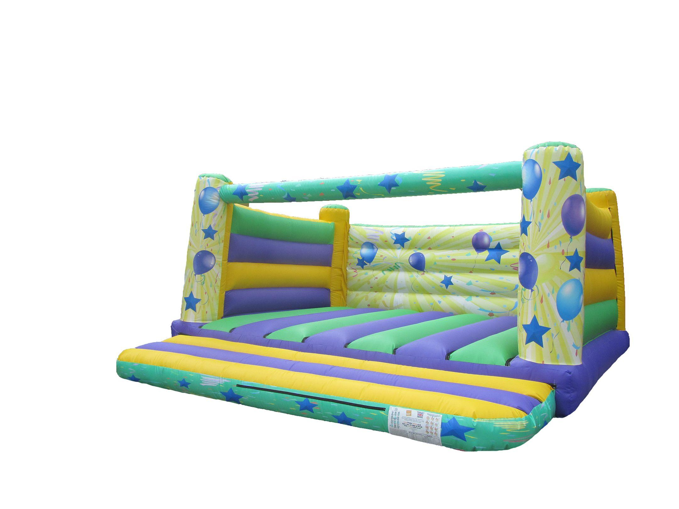 18x18 4 post printed party adults bouncy castle compressor