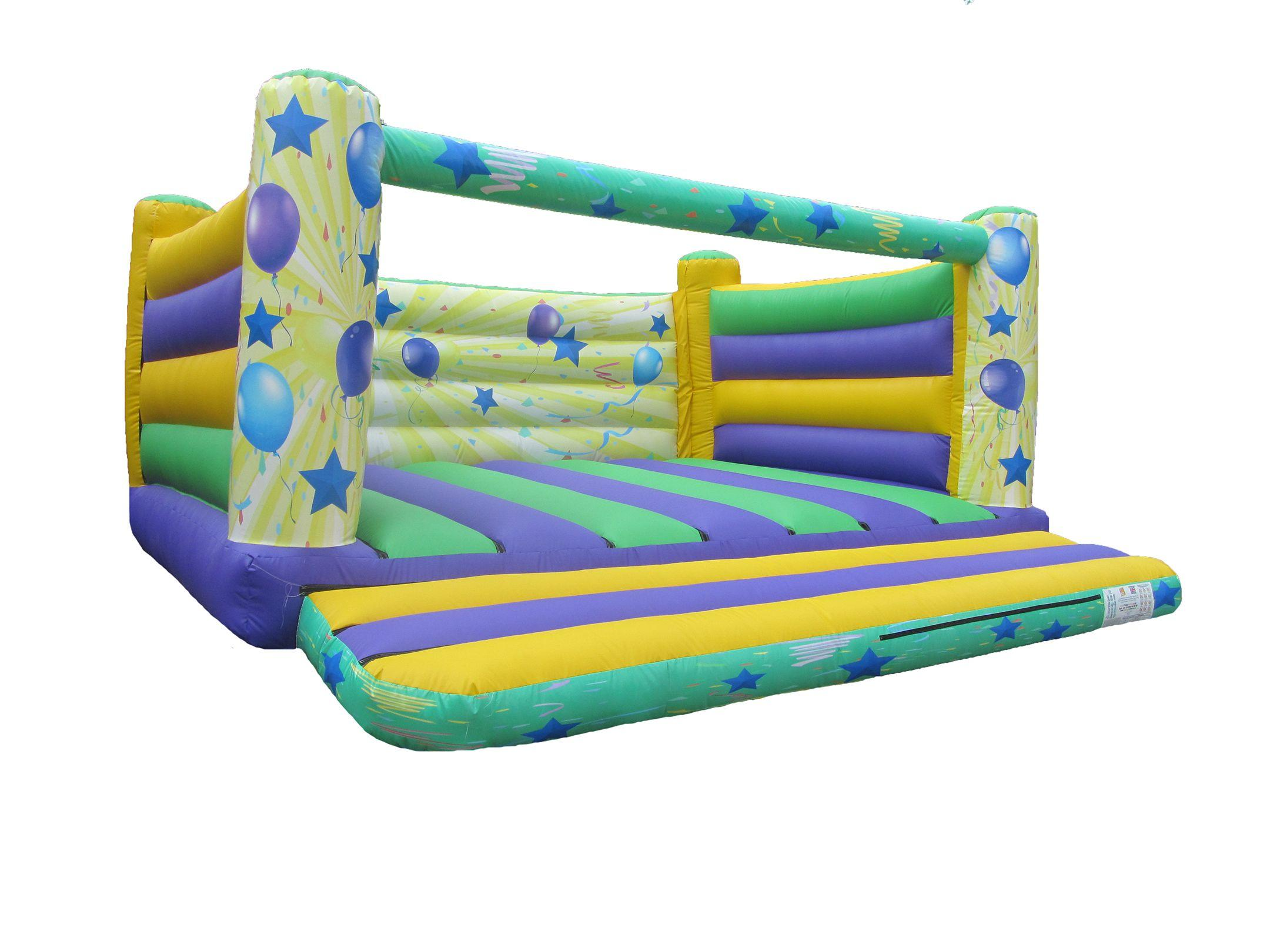 18x18 4post printed party adults bouncy castle compressor