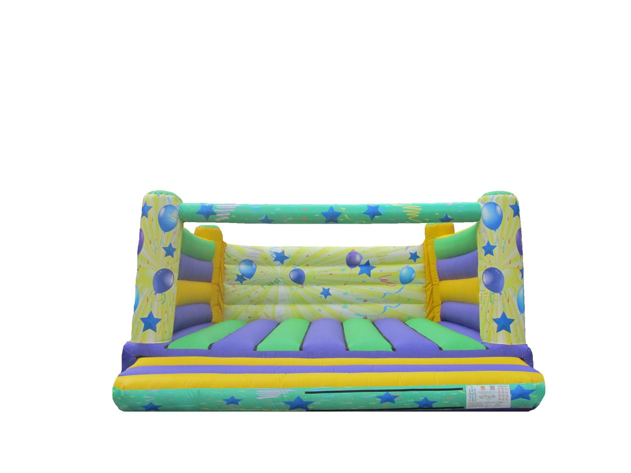 18x18 4post printed party bouncy castle compressor