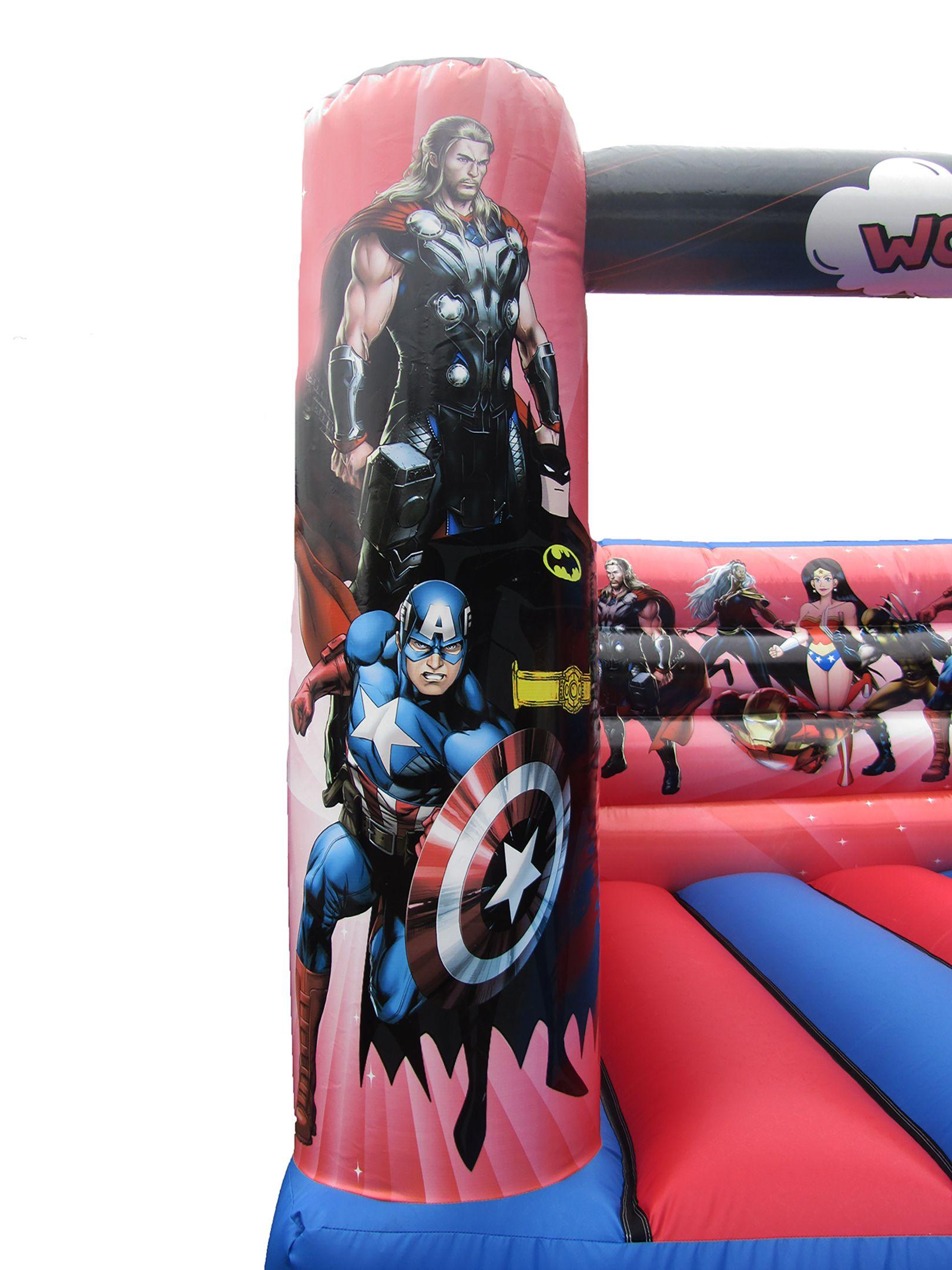 Digitally Printed Bouncy Castle Artwork