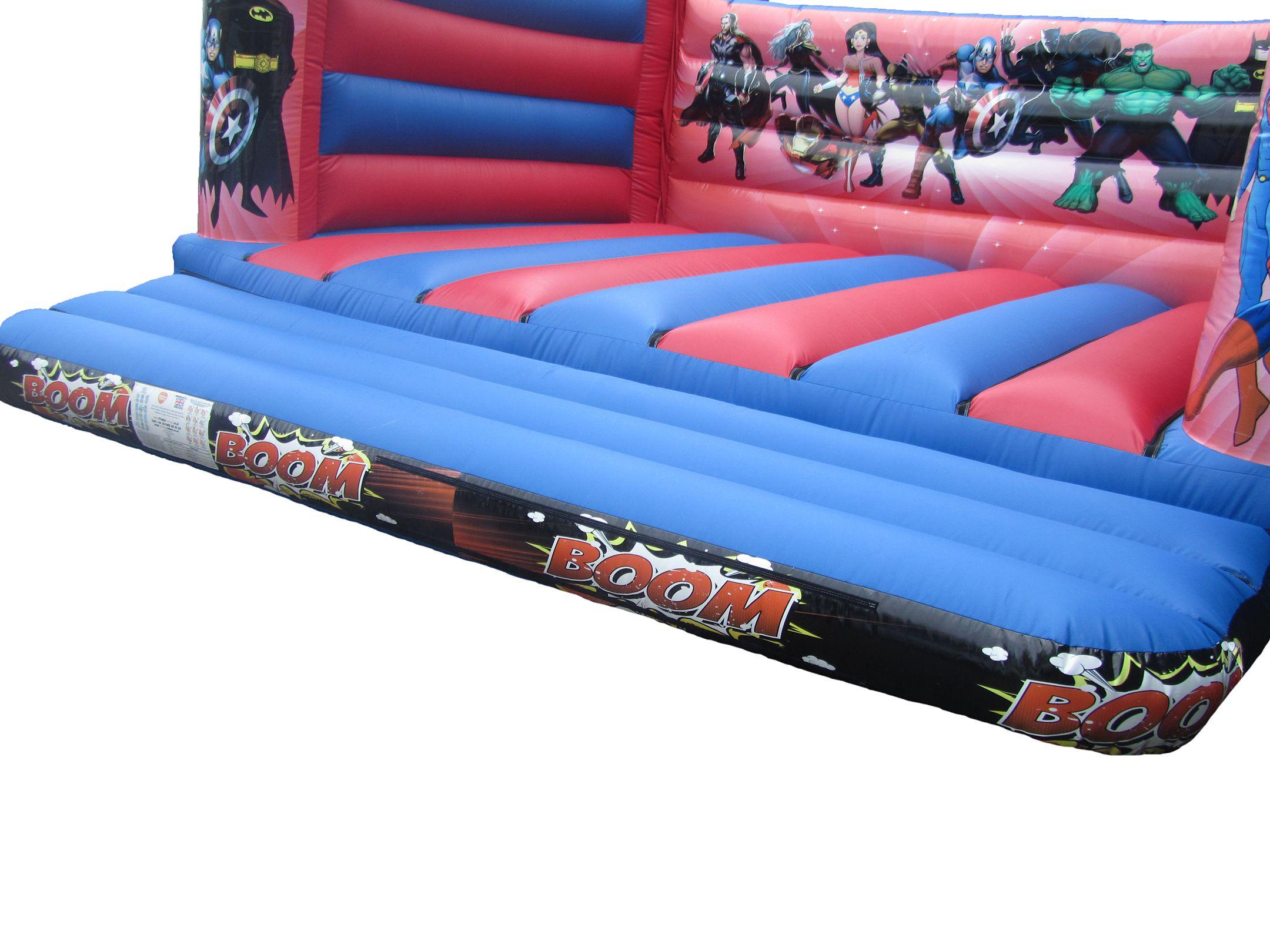 Bouncy Castle Digitally printed artwork