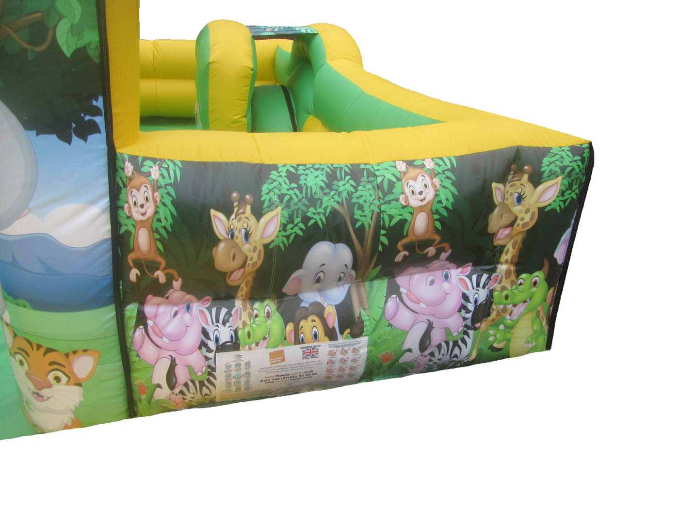 Jungle Themed Inflatable Artwork